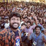 Rio Raj, selfie, with fan, college
