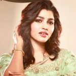 Sai Dhanshika, saree, hd, traditional look