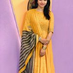 Sai Dhanshika, yellow dress, full size, high quality