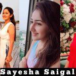 Sayesha Saigal,  (1)
