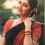 Sayesha Saigal, classy, Saree