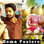 Sema Official Posters, GV Prakash Kumar, Arthana Binu (1)