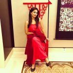 Shamlee, Shamili, Red Dress, Model