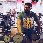 Shanmuga Pandian, gym, workout