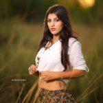 Yashika Aannand, photoshoot, white dress