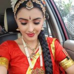 malvika sharma, Traditional Dress, saree, car