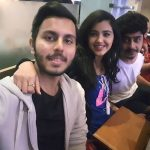 malvika sharma, selfie, friends