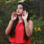 sema movie, Arthana Binu, red dress, latest