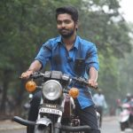 sema movie gallery hd g v prakash in yamaha bike rx 100(3)