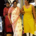 shilpa manjunath, mom, shopping, yellow