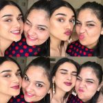 Aditi Rao Hydari, friend, collage, smile reaction