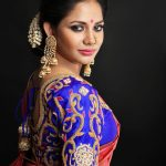 Aishwarya Dutta, Bigg Boss 2 Tamil, saree, photoshoot