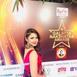 Aishwarya Dutta, Bigg Boss 2, award function, saree