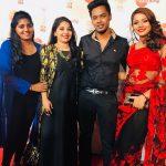Aishwarya Dutta, Bigg Boss 2, friend, function