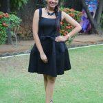 Aishwarya Dutta, Bigg Boss 2, large size, black dress