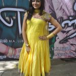 Aishwarya Dutta, Bigg Boss 2, yellow,colour dress, full size