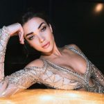 Amy Jackson, glamour, night