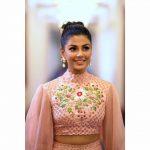 Anisha Ambrose, Vanjagar Ulagam actress, Function