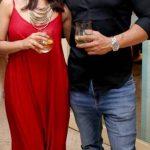 Anita Hassanandani, naagin 3, red dress, event