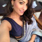 Anita Hassanandani, naagin 3, saree, top view, naughty