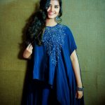 Anupama Parameswaran, Blue Dress, 2018, cute