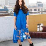 Anya Singh, Blue Dress