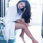 Anya Singh, White Dress, seductive