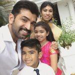 Arun Vijay, family, selfie, hd
