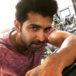 Arun Vijay, gym, workout