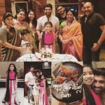 Arun Vijay, purvi, birthday celebration, family