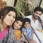 Arun Vijay, son, daughter, wife