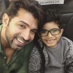 Arun Vijay, son, selfie with son