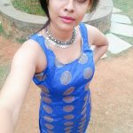 Athithi Das, blue dress, top