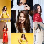 Bhavana, Bhavana Menon, smile, collage