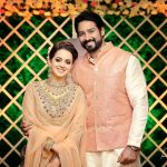 Bhavana, Naveen,  first-class, husband, wife
