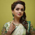 Bhavana, fantastic, saree, traditional dress