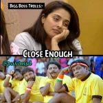 Bigg boss 2 memes, bigg boss tamil 2 troll, mumtaj, sad
