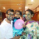 Bigg boss tamil 2, Thadi Balaji, nithya balaji, family