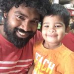 Bigg boss tamil, season 2, Daniel Annie Pope, Friend son, smile