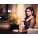Eesha Rebba, black fit, modern
