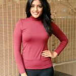 Eesha Rebba, red t shirt, spicy