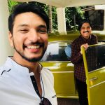 Gautham Karthik, dad, Mr. Chandramouli, first day shoot