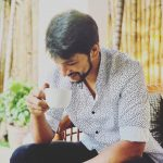 Gautham Karthik, exclusive, high-grade, tea, smile