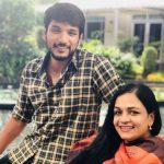 Gautham Karthik, mom, family