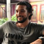 Gautham Karthik, smile, beard, old image