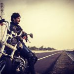 Gautham Karthik, with bike, easter