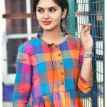 Gayathri Suresh, colour dress, attractive