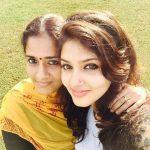 Gayathri Suresh, mom, selfie