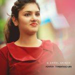 Gayathri Suresh, red beauty, sweet heroin