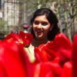 Gayathri Suresh, rose, flowers